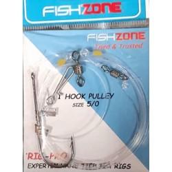 Fishzone 1 Hook Pulley Rig