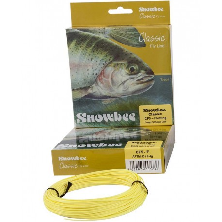 Snowbee Classic WF Floating Pale Yellow henrys