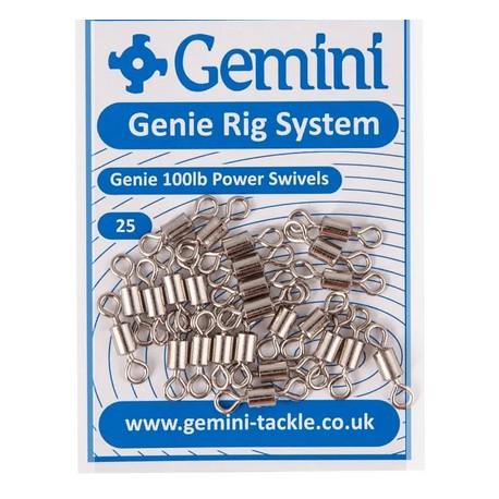 Gemini Genie 80lb Mainline-Swivels henrys