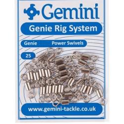 Gemini Genie 80lb Mainline-Swivels