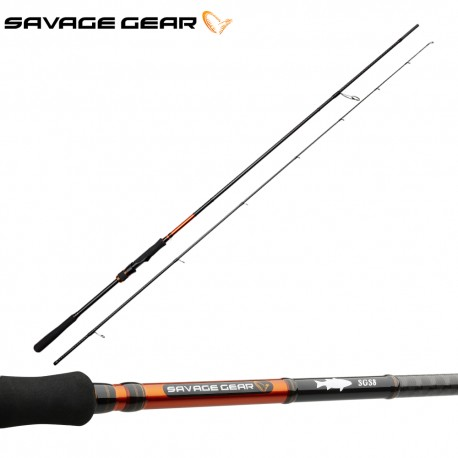 Savage Gear SGS8 Precision Lure Specialist Spinning Rod henrys