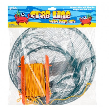 Yello Crab Line With Ring Net henrys