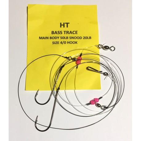HT 2 Hook Bass Trace 4/0 henrys
