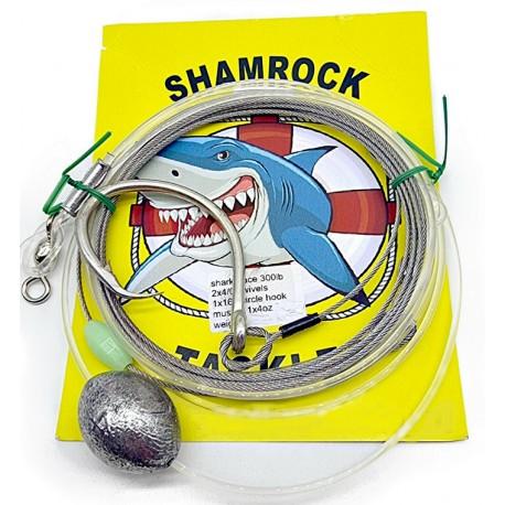 Shamrock Shark Trace 300lb Weighted henrys