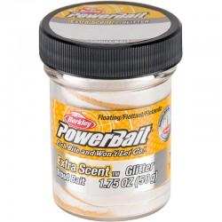 Berkley Powerbait Glitter Trout Bait White