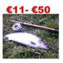 € 11 to € ¬50 Trout and Salmon