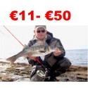 €11 to €50 Bass Lure Angler