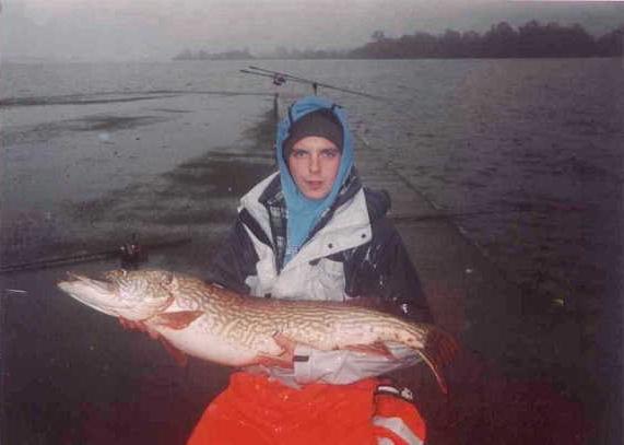 James Kinsella with 28lb Pike