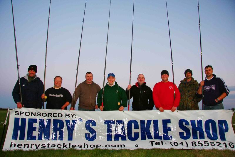 Finalists at the Sportscast Ireland Annual Finals Oct 2008